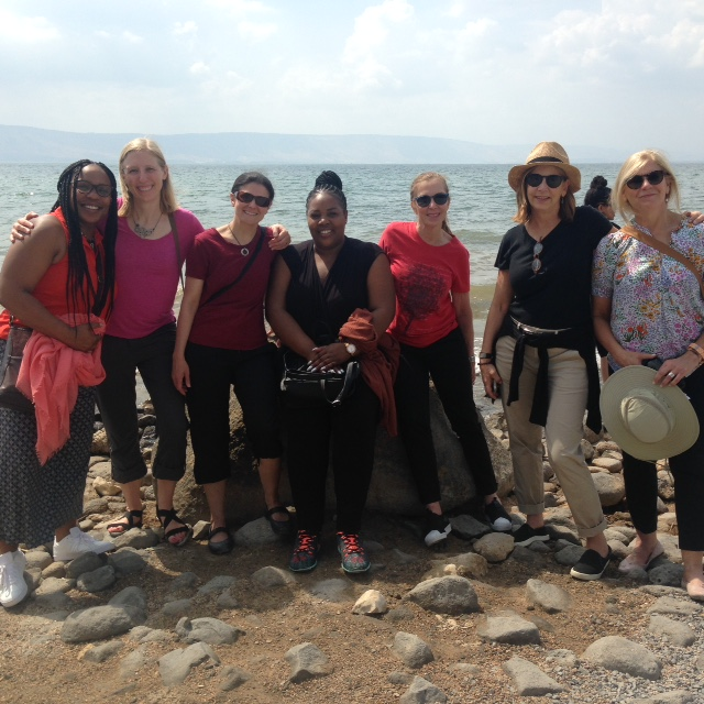 Cleveland women were in Israel with other women from Chicago, Indianapolis, and Milwaukee on the Women Partners for Peace mission.