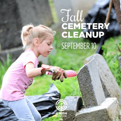 Fall Cemetery Cleanup