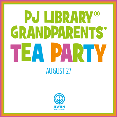 PJ Library Grandparents' Tea Party