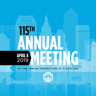 115th Annual Meeting of the Jewish Federation of Cleveland