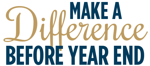 Make a Difference Before Year End