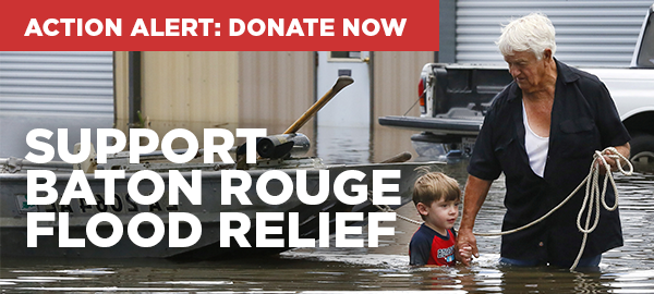 Email Banner - Baton Rouge Flood