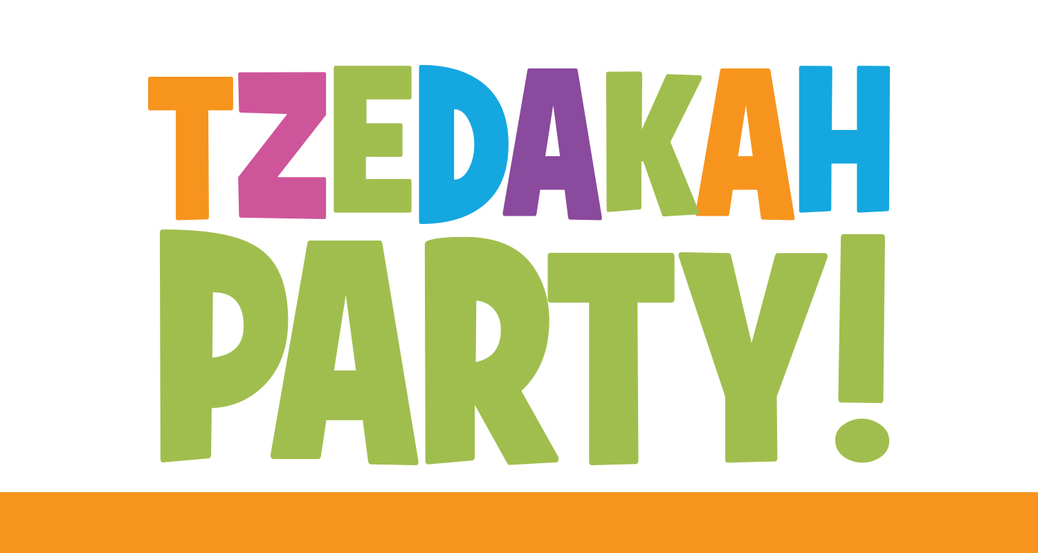 Tzedakah Party Teaches Value of Giving