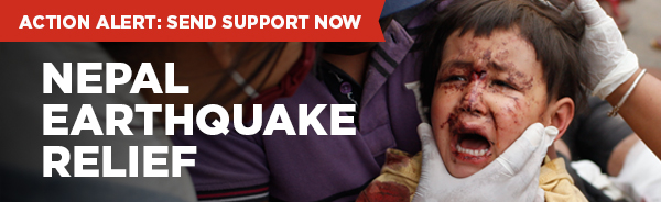 Support Victims of Nepal Earthquake