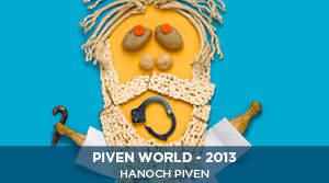 Hanoch Piven - Moses