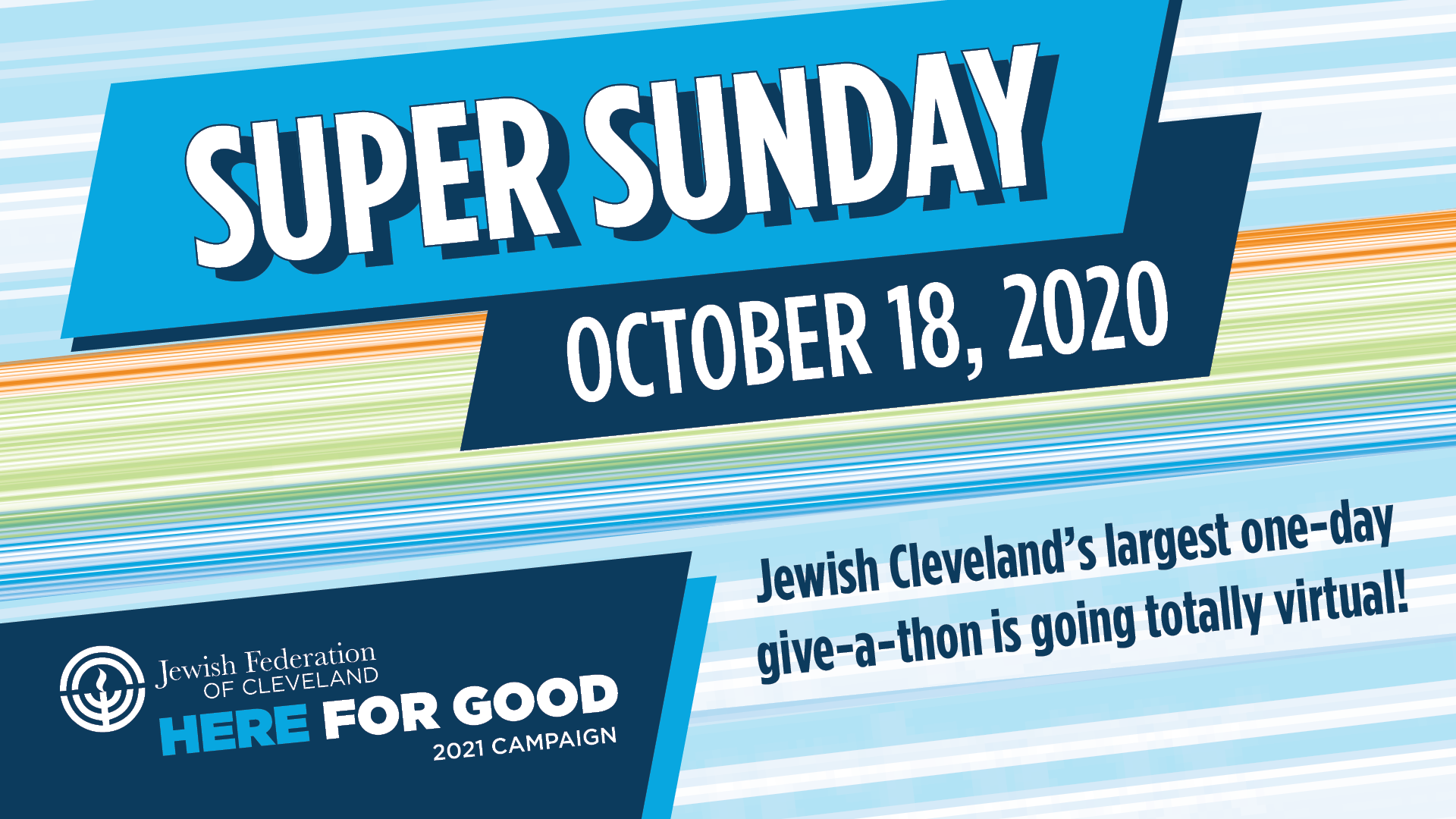 "Jewish Federation Invites Community to Volunteer at All-Virtual ""Super Sunday"" on 10/18"