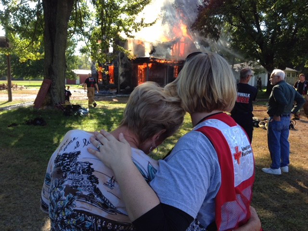 Why We Volunteer with American Red Cross