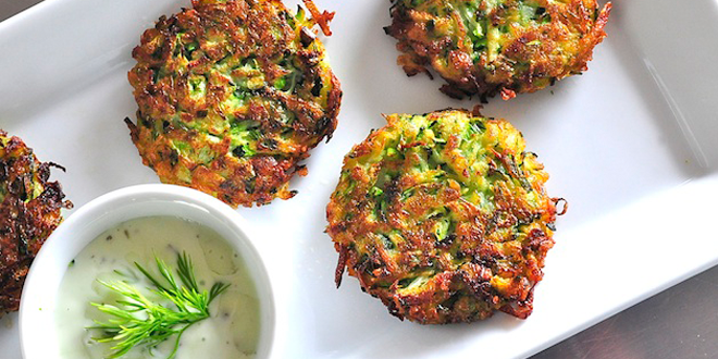 Lovely Leek Patties for Chanukah