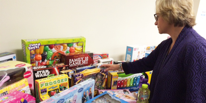 Gift Collection Helps Children in Need