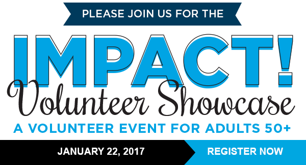 Attend the IMPACT! Volunteer Showcase