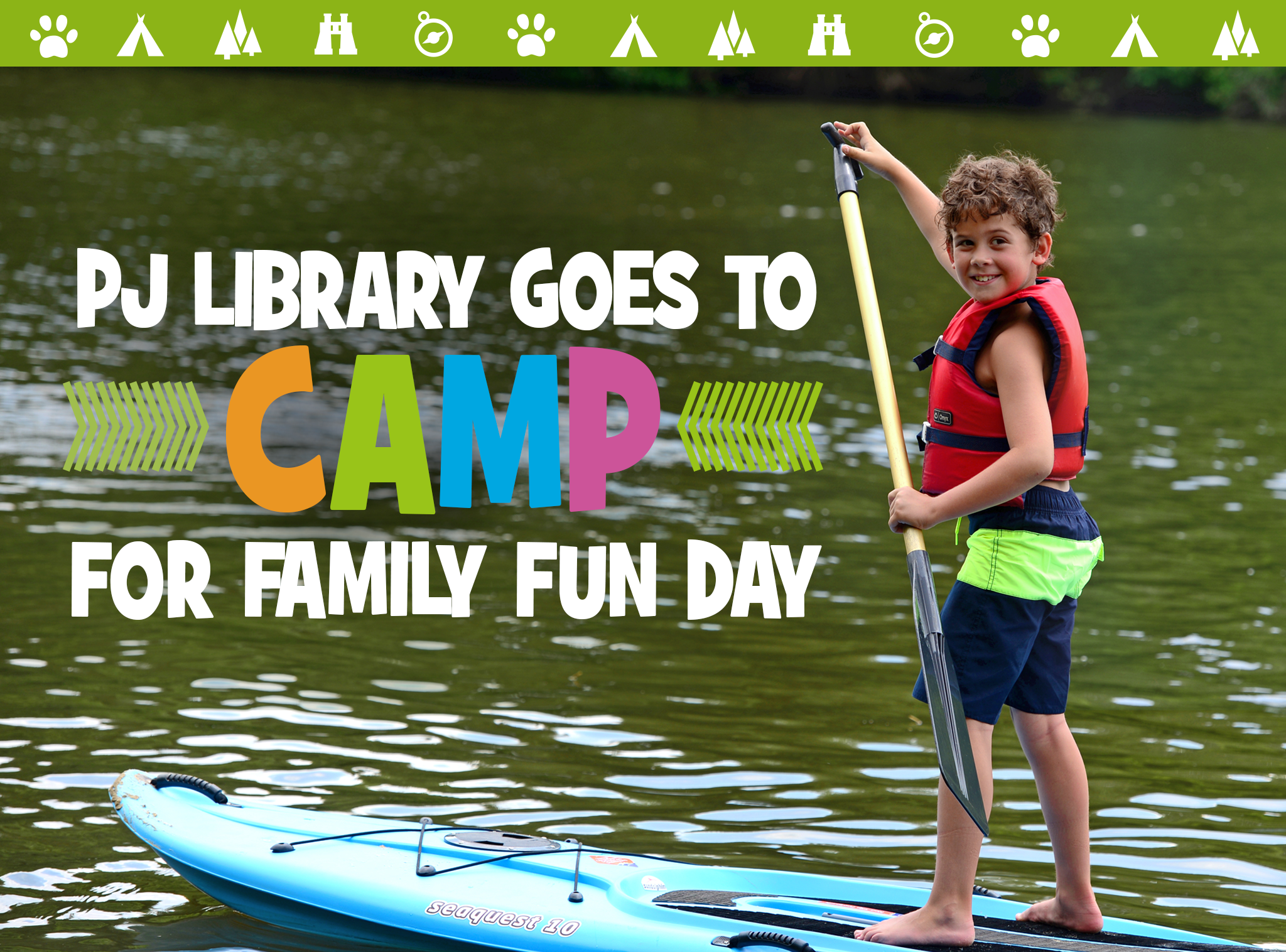 PJ Library Goes to Camp