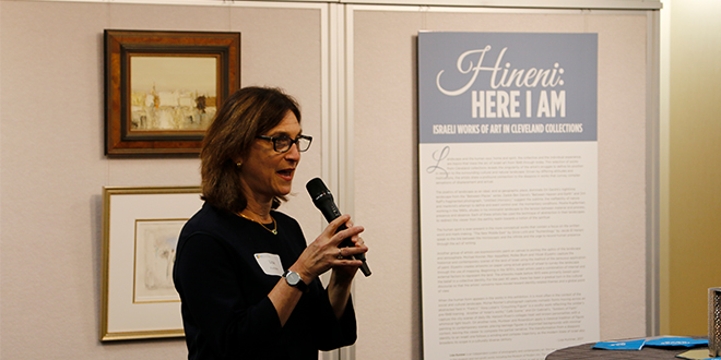 Hineni Exhibit Opens in Cleveland