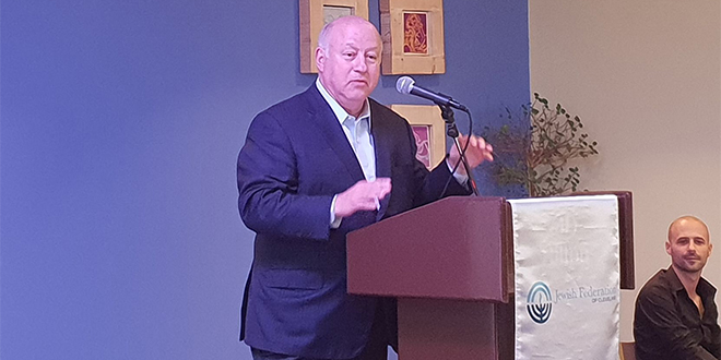 Federation President Hoffman Honored at JFNA GA in Israel