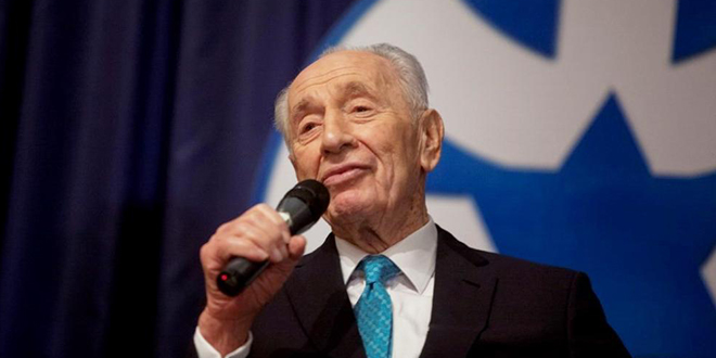 Listen: Hoffman Remembers Shimon Peres