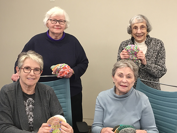Volunteers of the Month: Knitting Group