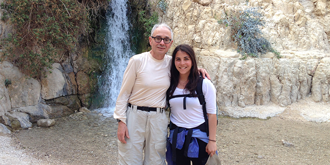 A Father/Daughter Bond in Israel