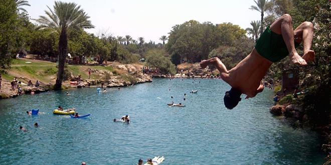 Weekends in Beit She'an