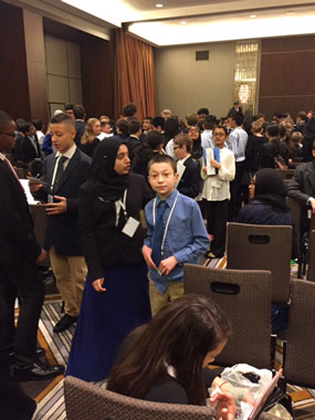 Mandel JDS Studetns Compete in Model UN Convention in NYC
