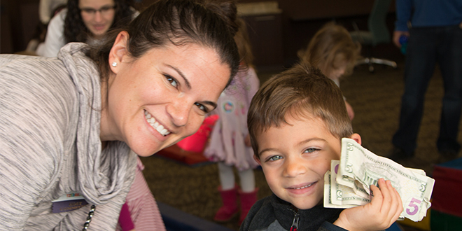 4-Year-Old Donates Money to Charity