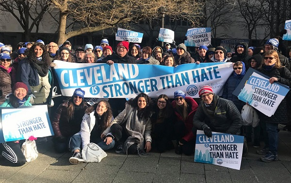 Jewish Cleveland Stands Up to Hate in New York
