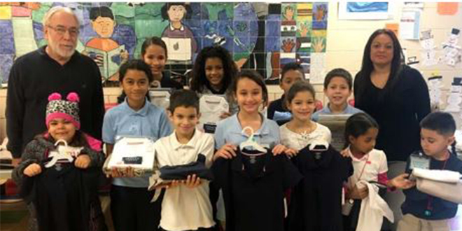 CMSD Features School Uniform Clothing Drive in News