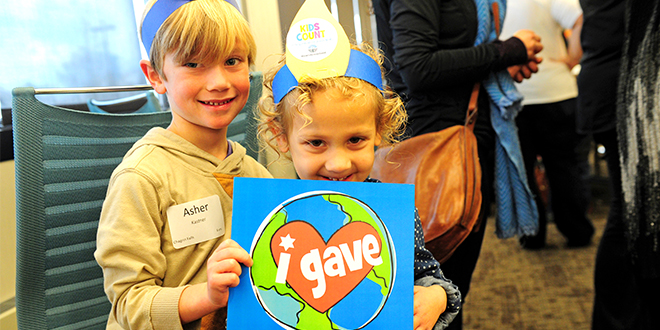 300+ Celebrate Giving at Tzedakah Party