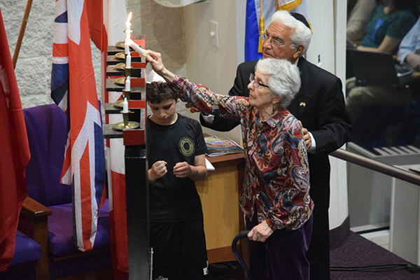 CJN Article: Yom Hashoah Commemoration at B'nai Jeshurun