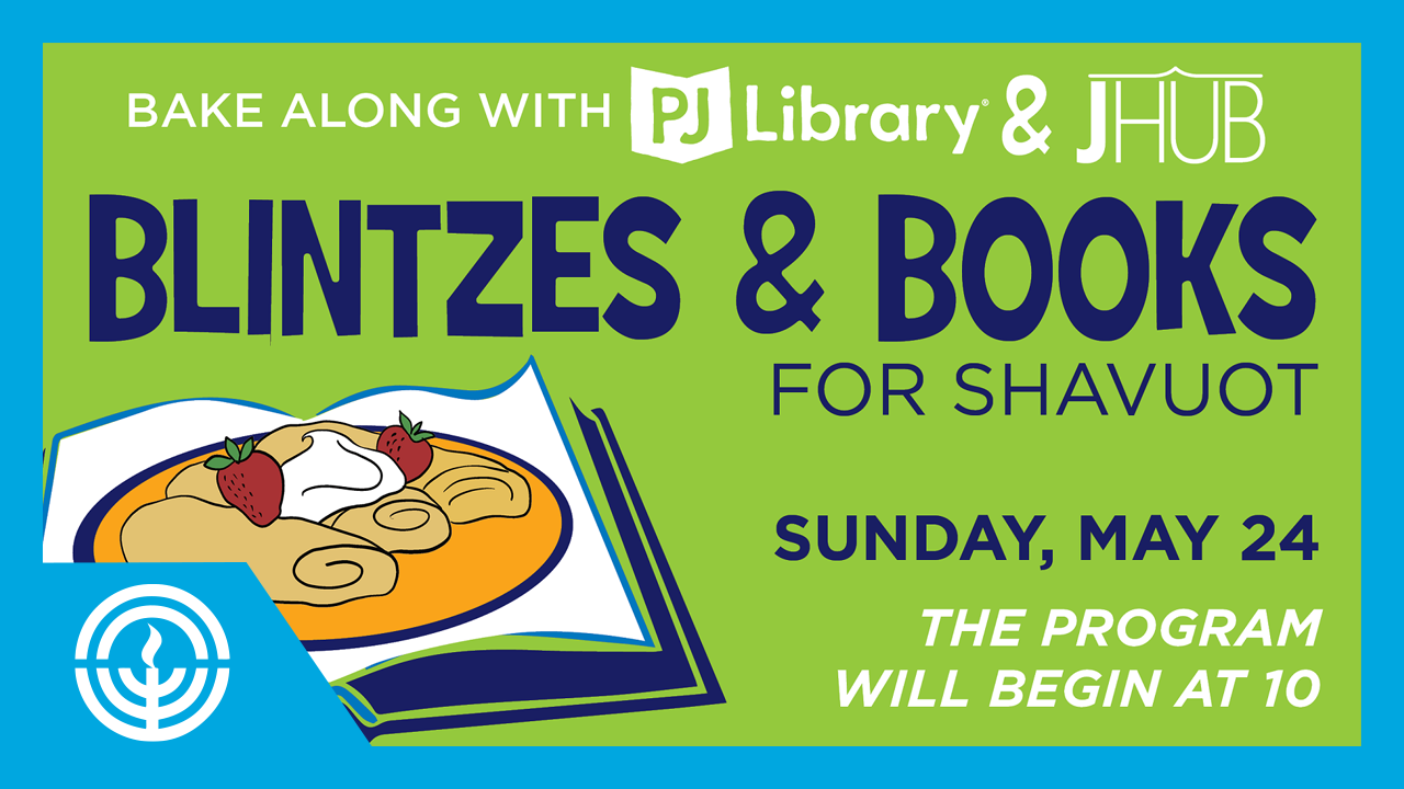 WATCH: PJ Library Blintzes & Books for Shavuot