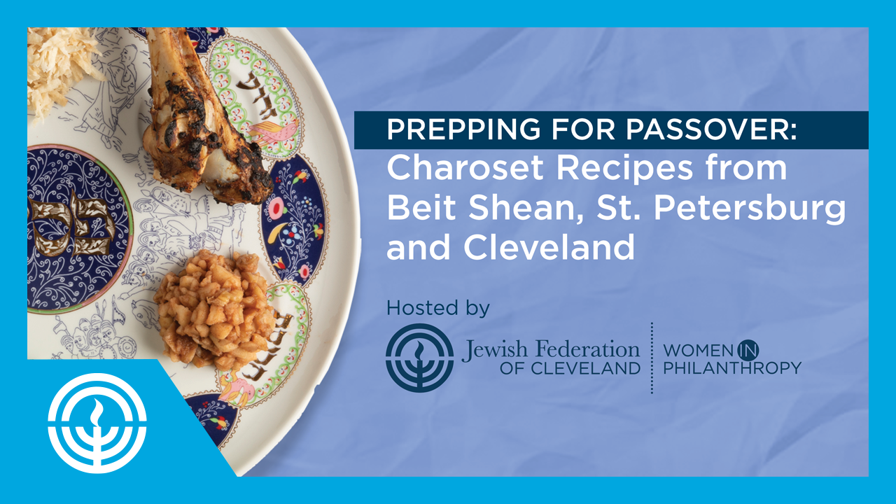 Watch: Prepping for Passover: Charoset Recipes From Three Continents