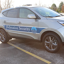 Federation Unveils Security Vehicle