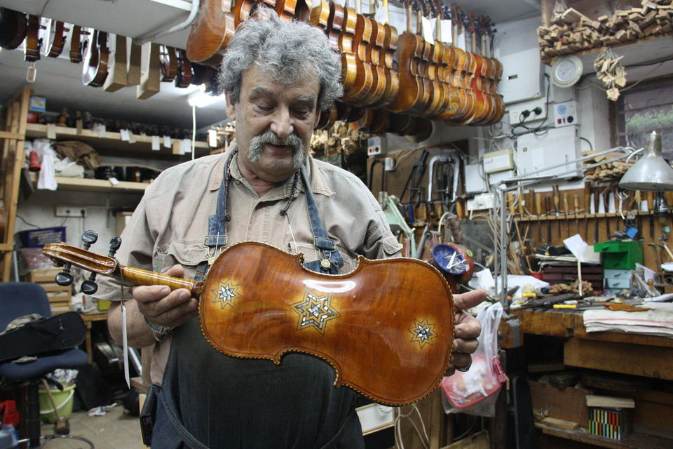 Instruments restored from Holocaust