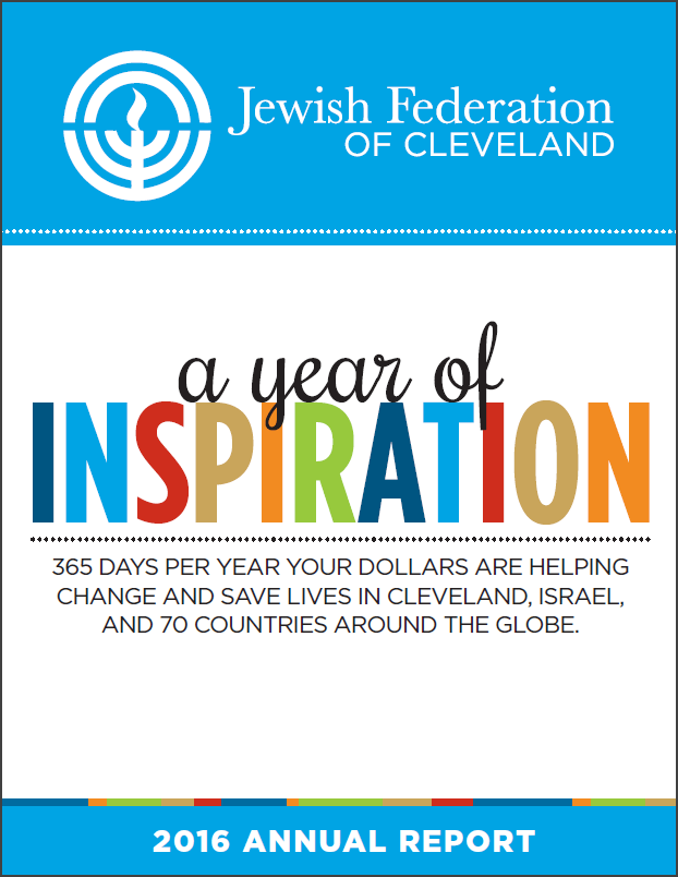 2016 Jewish Federation of Cleveland Annual Report